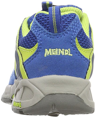 Lemon Respond Meindl Junior Kids' Ozean Hiking Unisex Rise 73 Low Shoes Blue EOOqvw