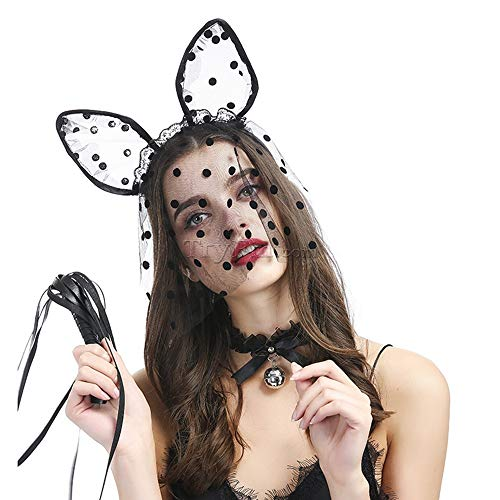 Misty Babe Sex Games Halloween Costume Bedroom Fun Pet Play Dominant Games Cosplay Hair Headwear Cat Ear Sexy Kitty Girl -