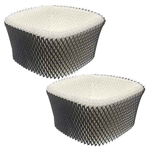Compatible with Holmes Humidifier Filter A, HWF62 Wick for Holmes HM1230 Sunbeam SCM1100 Vicks V3100 Honeywell HCM-100C, Pack of 2