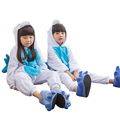 Costume Padgene Regalo Blu Sleepwear Cosplay Natale Halloween Costume Animale Per Pajama Compleanno Unicorno Di Bambino Tuta Di Party Sleepwear 8rwqrOYU