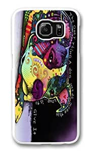 Affection Custom Samsung Galaxy S6/Samsung S6 Case Cover Polycarbonate White