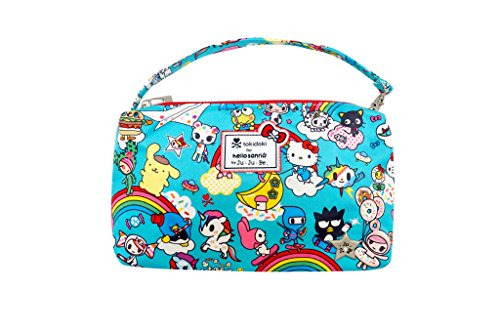 Ju-Ju-Be Tokidoki x Hello Kitty Collection Be Quick Wristlet, Rainbow Dreams (Diaper Bag Wristlet)