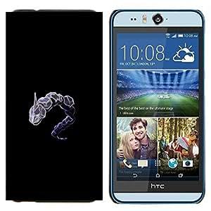EJOOY---Cubierta de la caja de protección para la piel dura ** HTC Desire Eye M910x ** --Dragonair P0kemon