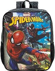 Mochila Escolar 16, Marvel Homem Aranha, 8672, Preta
