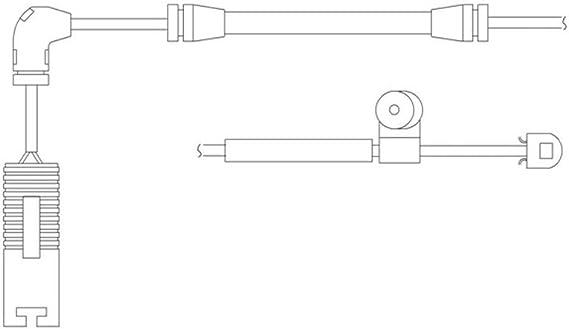 Delphi Lz0150 Bremse Tragen Indikatoren Auto