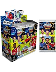 2020-21 Topps Match Attax Extra Champions League Cards - Box + 1 Bonus Promo Pack (36 Packs per Box) (7 Cards per Pack) (Total of 252 Cards)