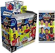 2020-21 Topps Match Attax Extra Champions League Cards - Box + 1 Bonus Promo Pack (36 Packs per Box) (7 Cards