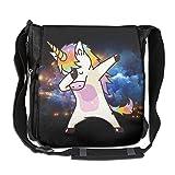 Hip Hop Unicorn Rainbow Convenient Unisex Shoulder Handbag
