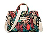 Canvaslife Colorful leaves Laptop Messenger Bag 15 Inch Laptop Briefcase 15.4 Inch /15.6 Inch for Macbook Pro 15 / Dell/hp/lenovo/sony/toshiba/ausa/acer/samsung Laptop Shoulder Bag