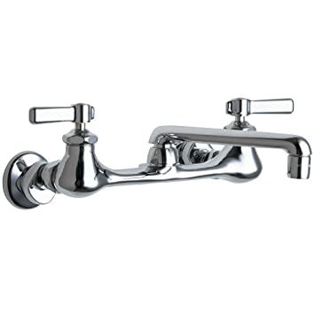 bathroom faucet widespread brushed nickel