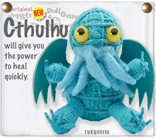 - Kamibashi Cthulhu Lovecraft Creature The Original String Doll Gang Keychain Clip