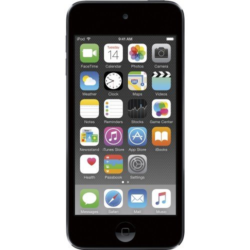 Apple iPod Touch 32GB Space Gray MKJ02LL/A (6th Generation) (Renewed)