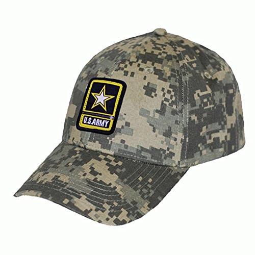 US ARMY DIGI CAMO TWILL SOLID BACK HAT