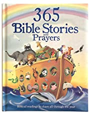 365 Bible Stories and Prayers: Biblical Readings to Share All Through the Year