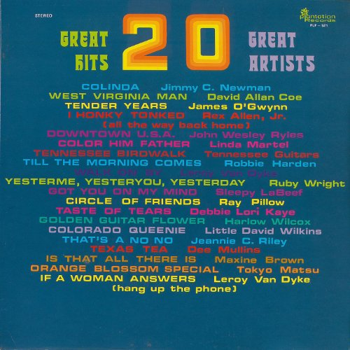 20 Great Hits - 20 Great Artists