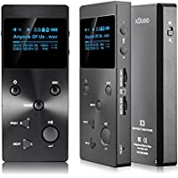 MP3 Player,Ounice XDUOO X3 HIFI MP3 Music Player Lossless Music Player with HD OLED Screen(Black)