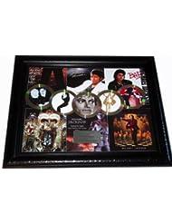 Michael Jackson Thriller Gold Platinum Record Award Display non- AFTAL