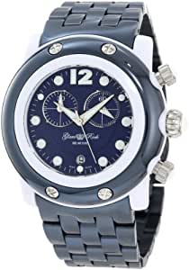 Glam Rock Women's GK1144 Miami Beach Chronograph Navy Blue Dial Watch