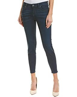 KUT from the Kloth Womens Connie Ankle Skinny Jeans w/Fray ...
