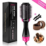 Bestidy Hair Dryer Brush, One Step Hair Dryer & Volumizer 3-in-1 Dry & Straighten & Curl,Hair Dryer and Volumizer, Smooth Frizz with Ionic Technology for All Hair Types
