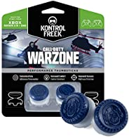KontrolFreek Call of Duty: Warzone Performance Thumbsticks for Xbox One and Xbox Series X | 2 High-Rise, Hybri