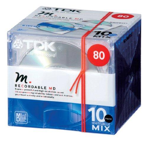 TDK Blank MD 80min 10packs from JAPAN by TDK