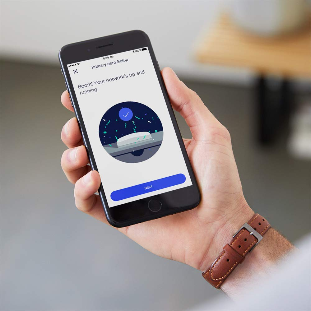 eero Pro - Advanced Pro-Grade Tri-Band Mesh WiFi System to Replace Traditional Routers and WiFi Range Extenders - Single eero Pro for homes and apartments by eero (Image #5)