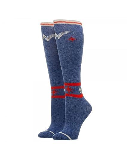 b785ffb86d9 Amazon.com  Wonder Woman Warrior Knee High Socks