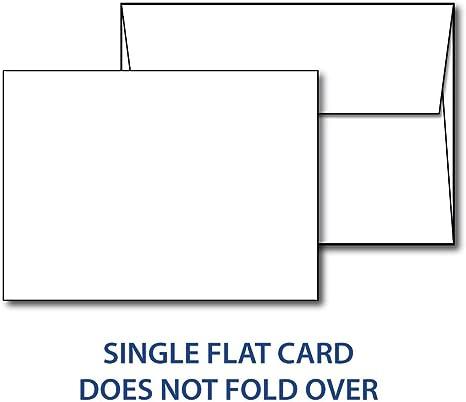 Amazon.com: Heavyweight - Tarjetas con sobres (5.0 x 7.0 in ...