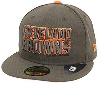 New Era 59Fifty Pop Flip Cleveland Browns Brown Fitted
