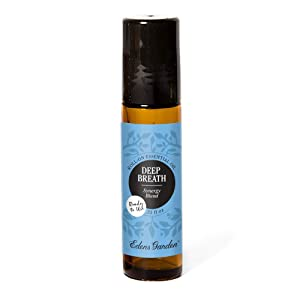 Edens Garden Deep Breath Essential Oil Synergy Blend, 100% Pure Therapeutic Grade (Pre-Diluted & Ready To Use- Congestion & Cold Flu) 10 ml Roll-On