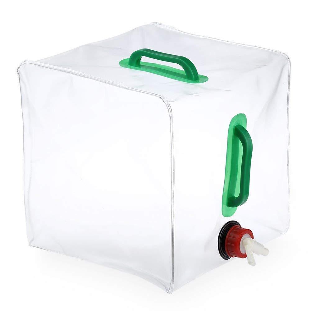 Bolsa de Agua de Emergencia para Campamento//Senderismo//Limpieza//Mochila Recipiente de Agua Plegable AUVSTAR 10L//20L Bolsa Port/átil de Agua Bolsa de Almacenamiento de Agua de Emergencia 20L