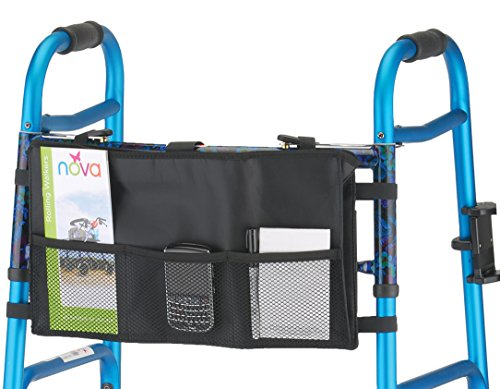 NOVA Medical Products Folding Walker Bag, Black by NOVA Medical Products