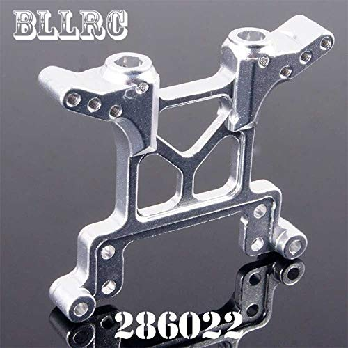 - Part & Accessories 286022 1:16 Rear Front Shock Tower For Rc Car 1/16 Truck Short Course 94186 94286 - (Color: Silver)