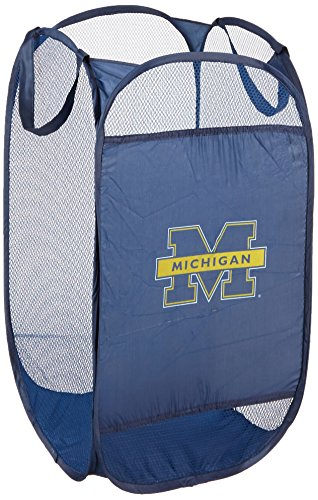 Michigan Wolverines Ncaa Collapsible - Officially Licensed NCAA Michigan Wolverines Collapsible Hamper