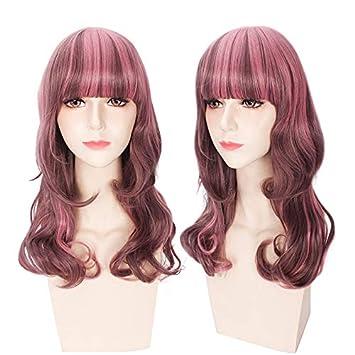 Fa Cosplay Pelucas Peluca Harajuku Estilo japonés Harajuku Girls Doble Pear