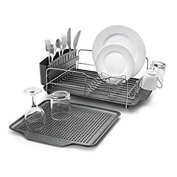Polder KTH-615 Advantage Dish Rack and Tray 4-Piece Combo