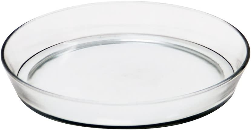 "Vinyl Plastic Pot Saucers for House Plants 10 Inch 8-3//4/"" at Bottom 5 10/"""