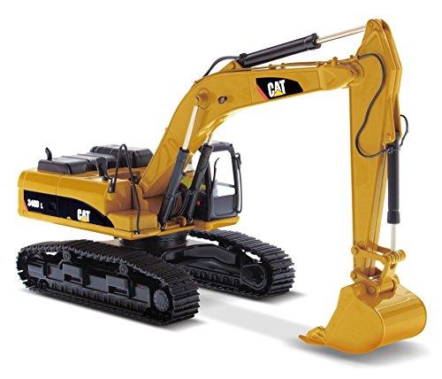 CAT Caterpillar 340D L Hydraulic Excavator with Operator 1/50 by Diecast Masters 85908 - 50 Cat Excavator