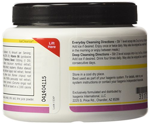 isagenix cleanse for life liquid instructions
