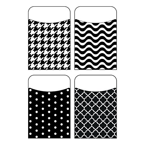TREND enterprises, Inc. Black & White Terrific Pockets Variety Pack, 40 ct -
