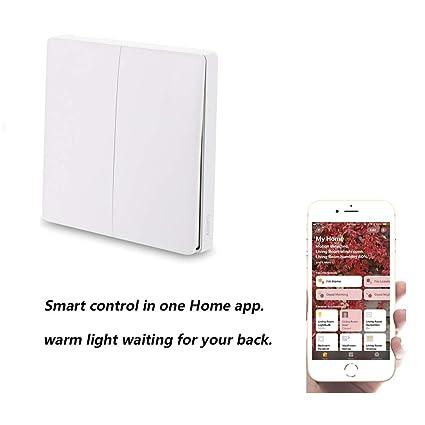 Amazon com: Fesjoy Aqara WiFi Smart Light Switch, WiFi 2 4