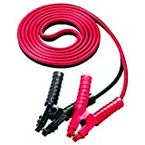 Voltec Industries 10-00320 1-Gauge Booster Cables, 25-Feet, Red/Black