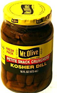 product image for Mt Olive Kosher Dill PETITE SNACK 16oz 3pack