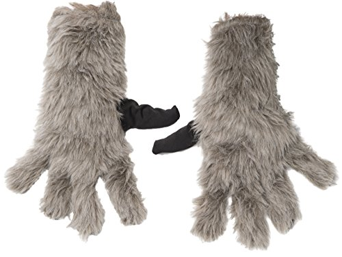 Child Rocket Raccoon Gloves (Rubie's Costume Guardians Of The Galaxy Vol. 2 Child's Rocket Raccoon Gloves, One Size)