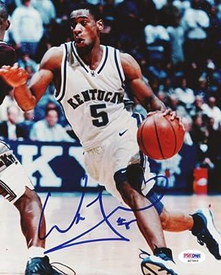 Wayne Turner Autographed 8x10 Photo Kentucky PSA/DNA #S27945