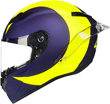 XL, Carbon Fiber Red U Black Gloss Woljay Full Face Motorcycle Helmet Racing Helmet Motocross Off Road Moto Street Bike Helmets