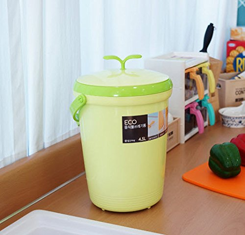 tenby living food waste compost bin for kitchen counter top use odorless sanitary home indoor