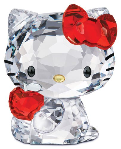 c6bf9fc94 Amazon.com: Swarovski Hello Kitty Red Apple: Home & Kitchen