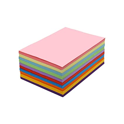 SUPVOX 230 Papeles de Copia Coloridos Hojas de Papel de Impresora ...